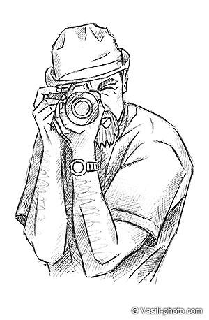 Как держать камеру