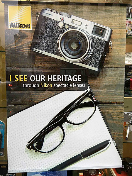 Nikon spectacle poster
